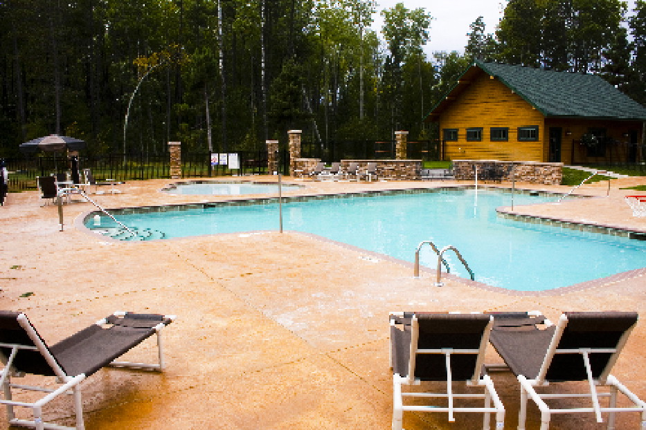 The Beach And Swimming Pools Cottages On Whitefish